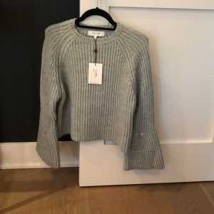 John-Jenn bell sleeve sweater
